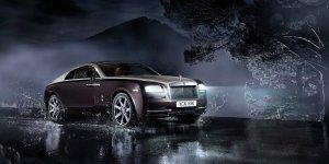 Rolls Royce Wraith front 3q