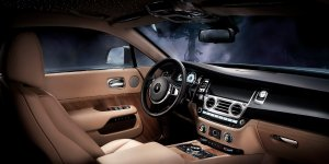 Rolls Royce Wraith Interior Starry Night
