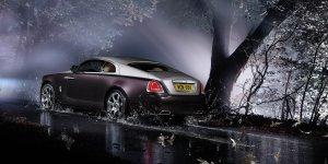 RR Wraith rear 3q