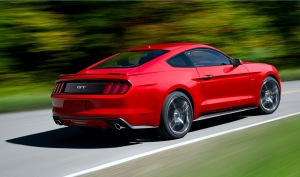 2015 Mustang Fastback Action