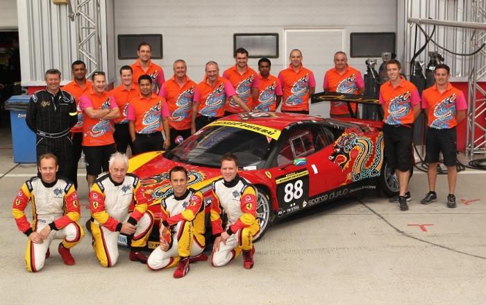 Dragon Racing team