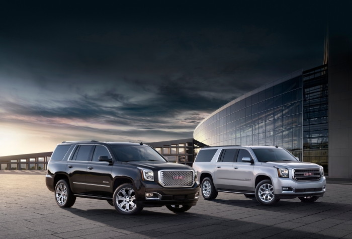 2015 GMC Yukon Denali and Yukon XL Exterior