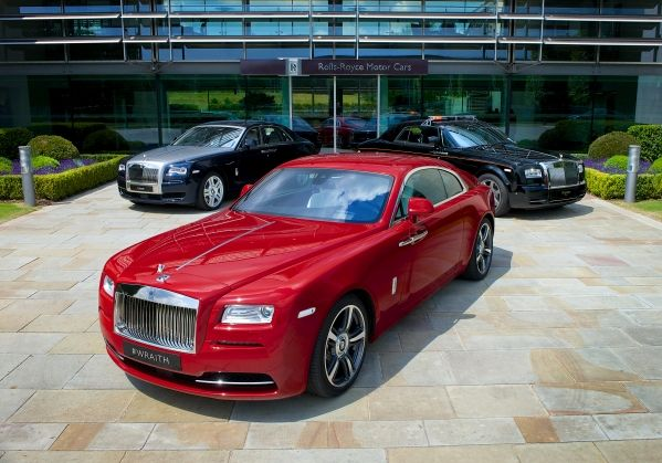 ROLLS-ROYCE MOTOR CARS CELEBRATES 2014 GOODWOOD FESTIVAL OF SPEED WITH ALL THREE CURRENT MODELS: PHANTOM, GHOST AND WRAITH