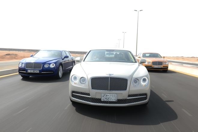 A Bentley Line Up