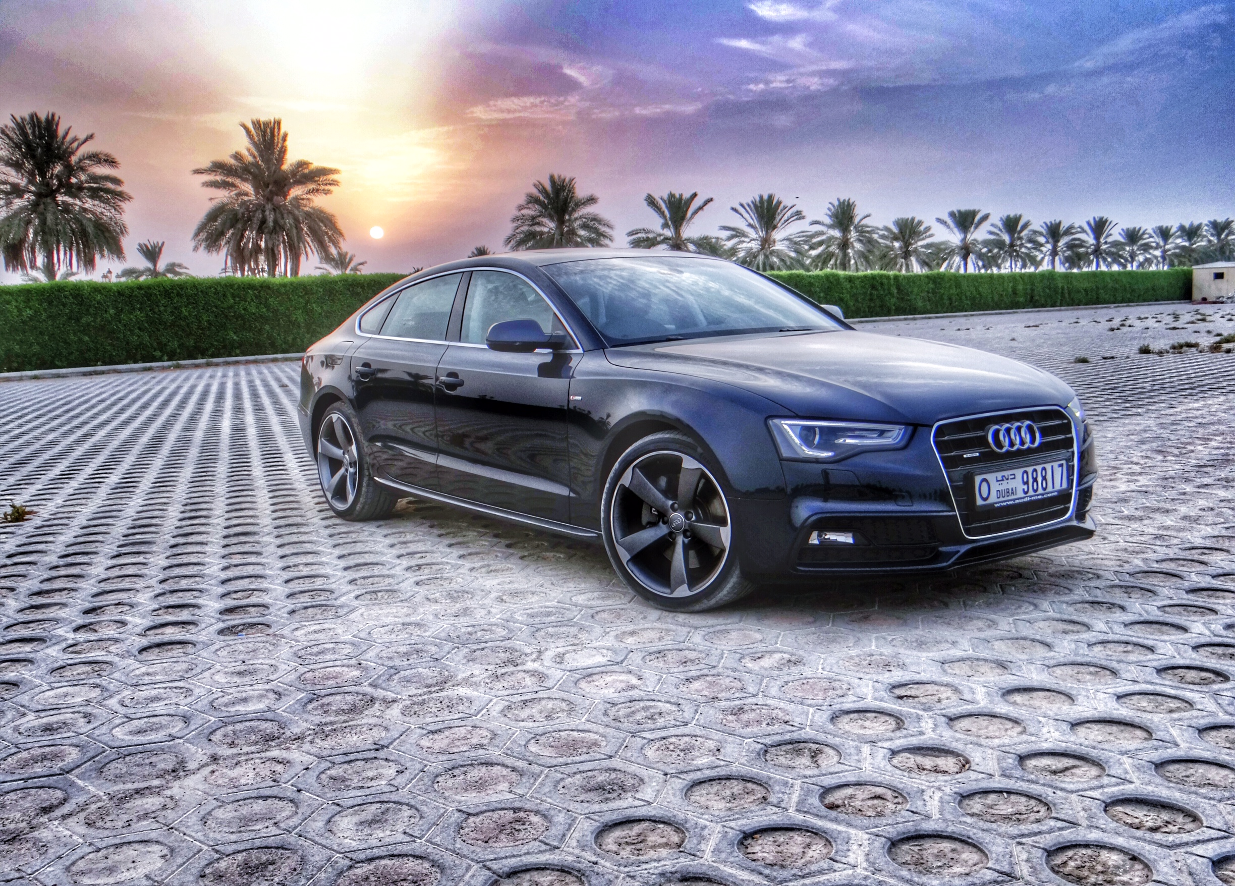 the 2014 audi a5 sportback 50 tfsi a life less ordinary rearview mirror. Black Bedroom Furniture Sets. Home Design Ideas