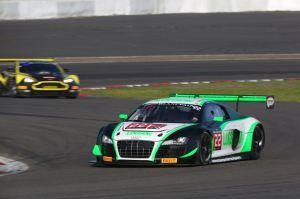 Audi R8 LMS ultra #22 (Team Parker Racing), Ian Loggie,Julian Westwood