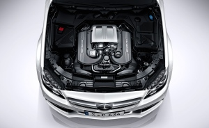 MB C63 Engine