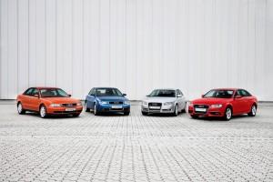 Produktionsjubilaeum:  20 Jahre Audi A4 am Standort Ingolstadt