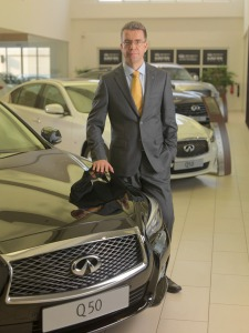 Juergen Schmitz, Managing Director, Infiniti Middle East-2