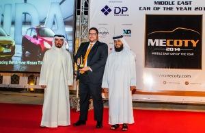 Nissan Tiida MECOTY Awards