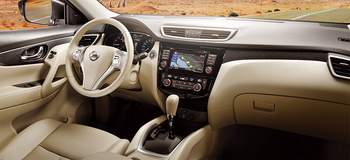 Nissan x trail 2015 interior for Interieur qashqai 2015