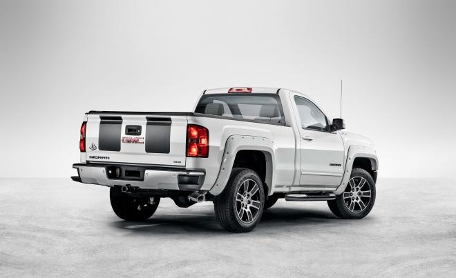 2015 Sierra Light Duty pickup LEADER edition-fusaorear