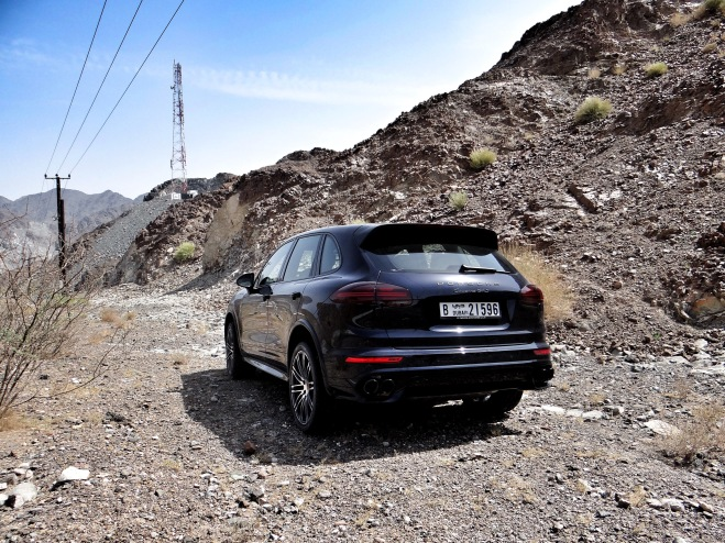 2015 Porsche Cayenne GTS on The Hills