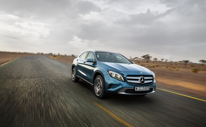 The new Mercedes-Benz GLA