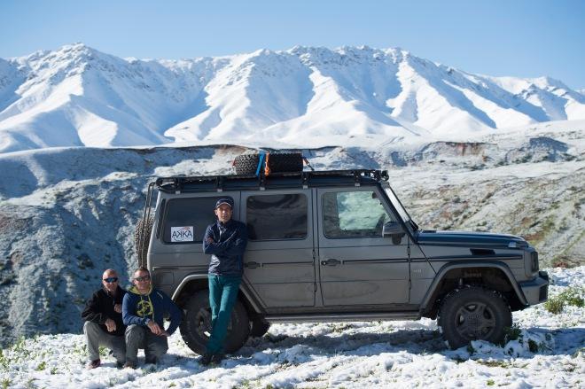 Mike Horn mit der G-Klasse auf dem Weg zum K2 im Mai / Juni 2015  //  Mike Horn with the G-Class on the way to K2 on May / June 2015