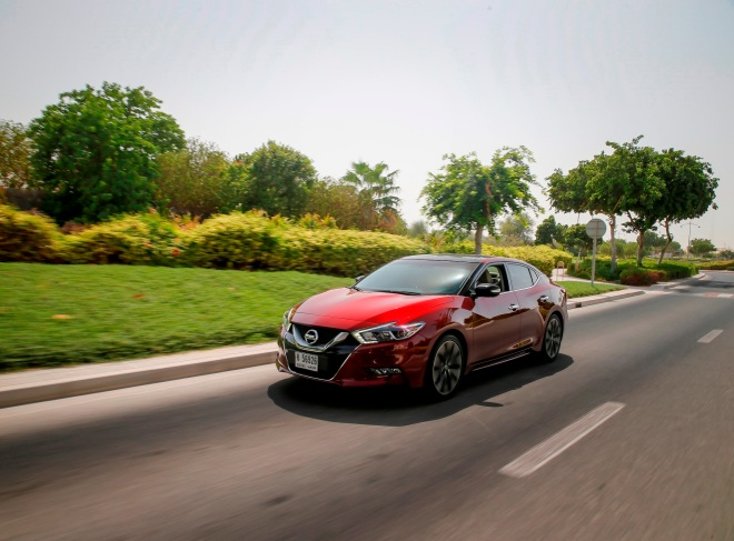All-New Nissan Maxima 2016 - RED