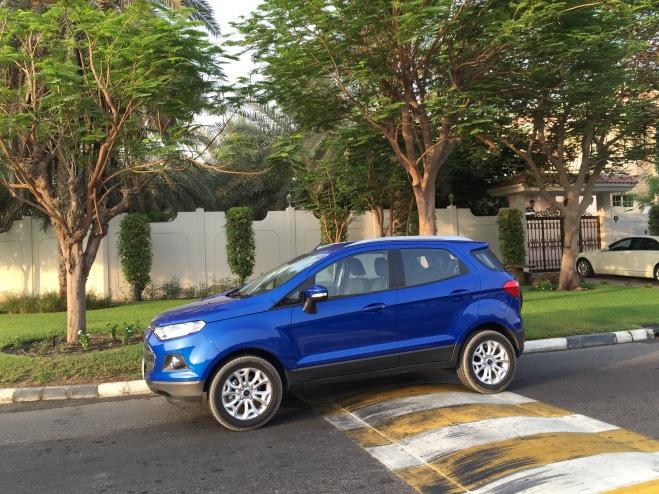2015 Ford EcoSport Titanium Side - instagram.com/samisiddiqi1/