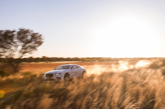 Bentley Continental GT Speed- Vmax in the outback (5)