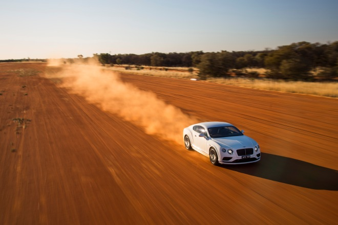 Bentley Continental GT Speed- Vmax in the outback (7)