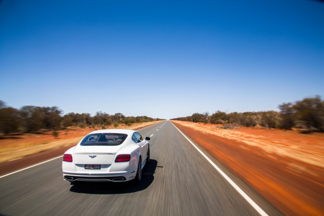 Bentley Continental GT Speed- Vmax in the outback (8)