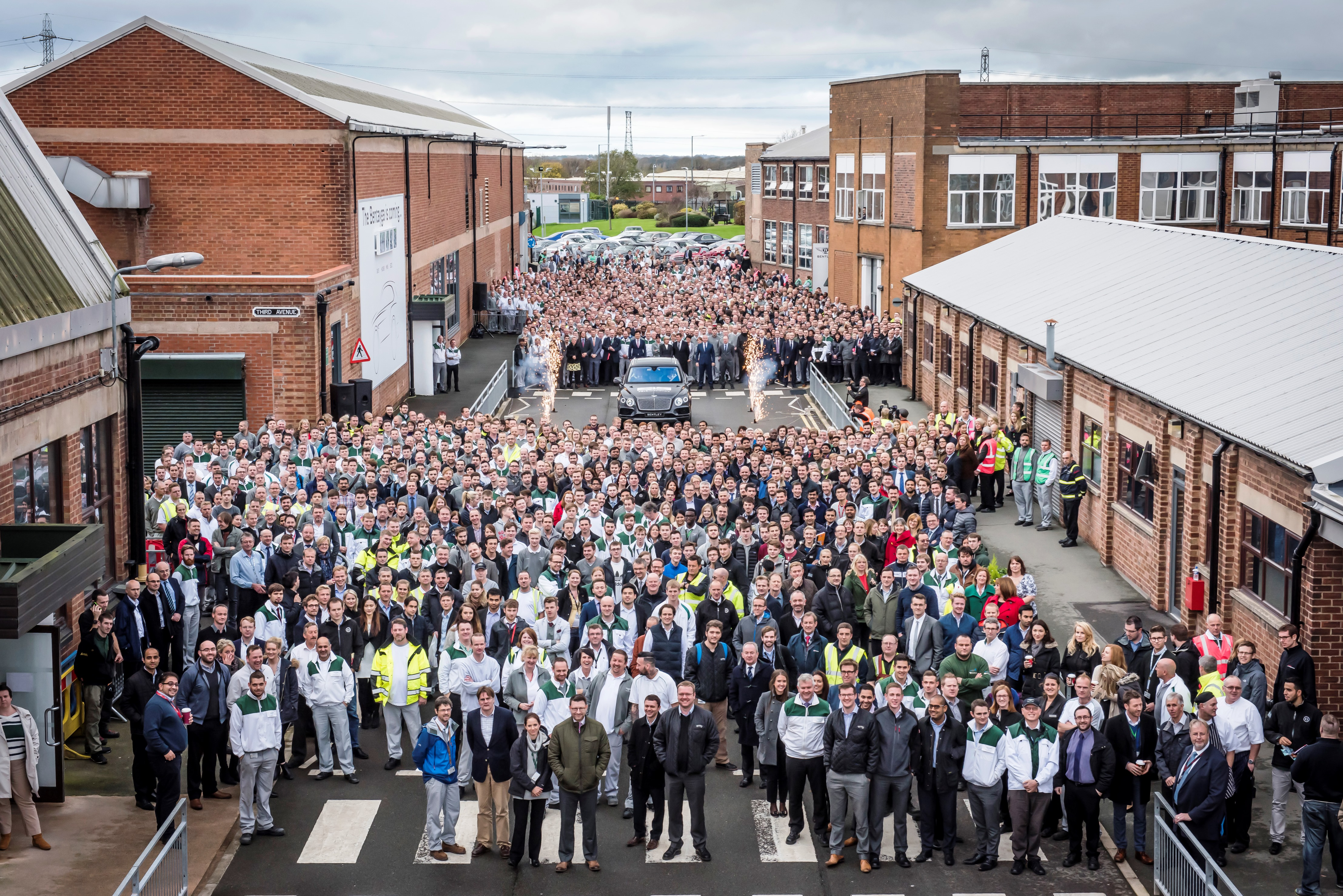 First Bentley Bentayga rolls off the production line - 4