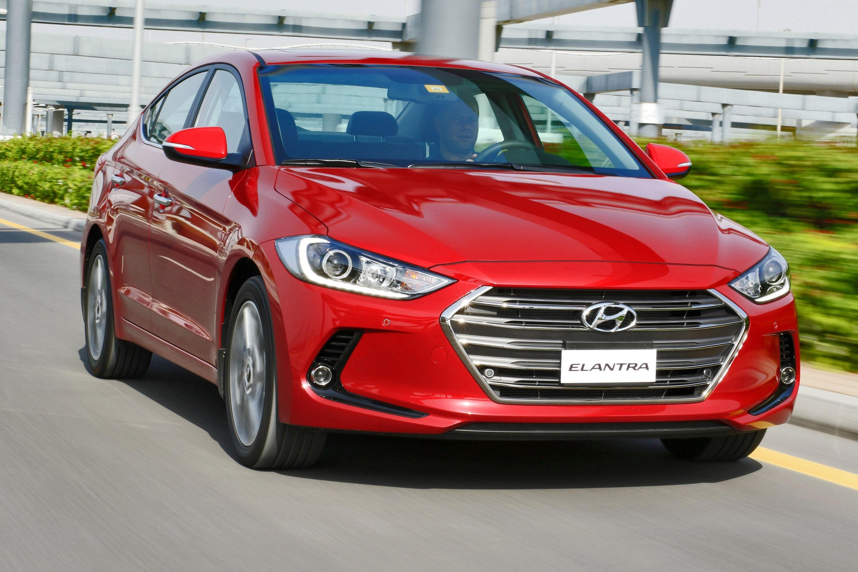 Hyundai All-new Elantra Front Red