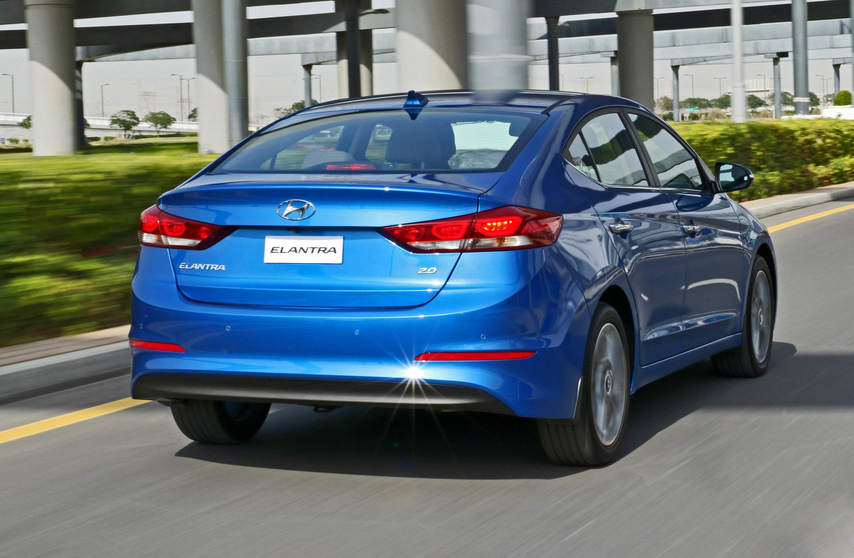 Hyundai All-new Elantra Rear Blue (1)