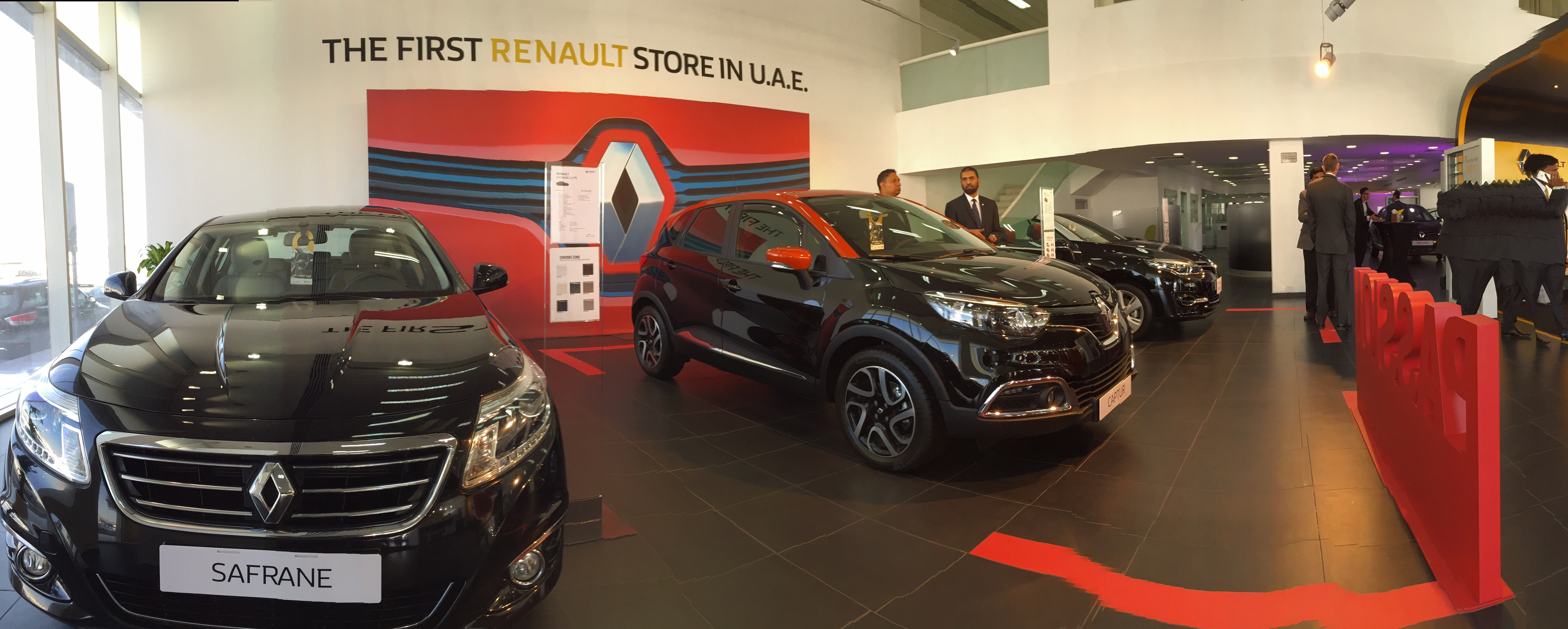 Arabian Automobiles pany Opens UAE s First Renault Store