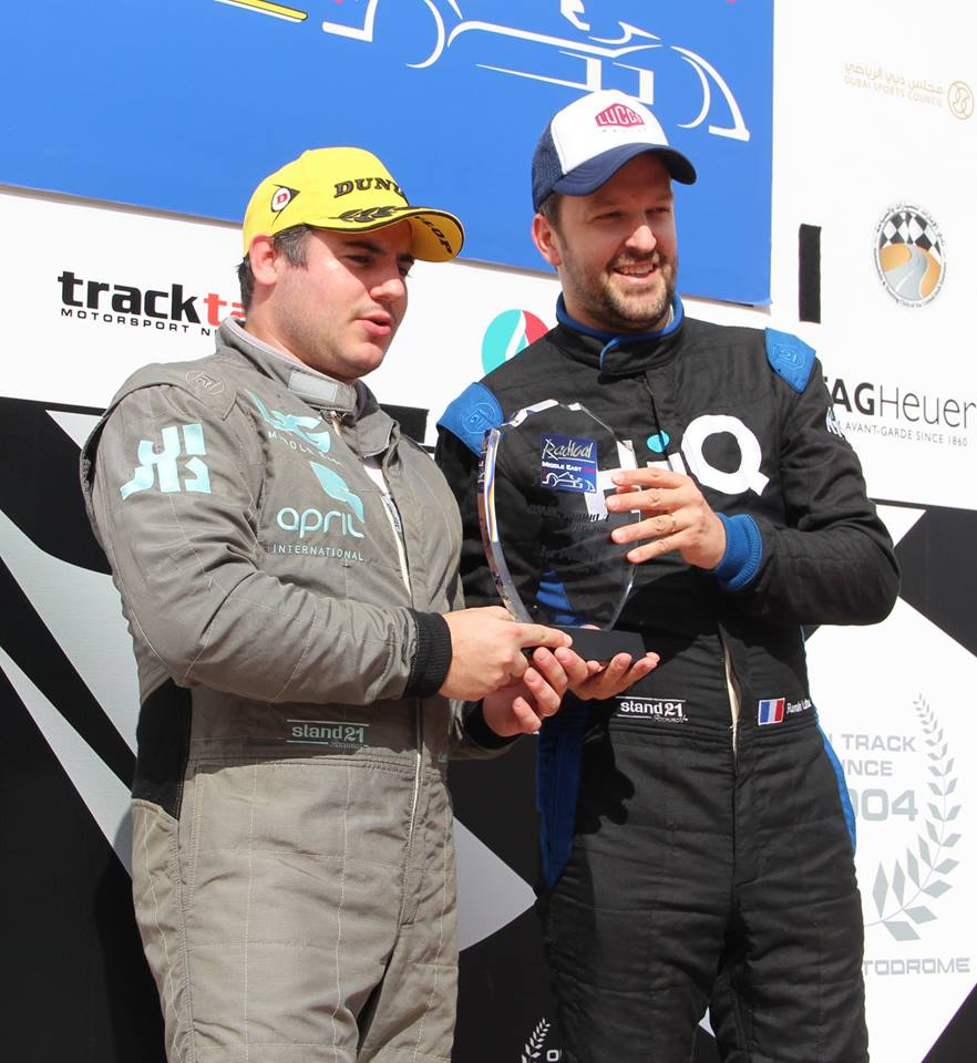 Lucco Racing Team wins First Place RMEC 2016_Ludovic Loffreda (left) and Romain Lutter (right).jpg