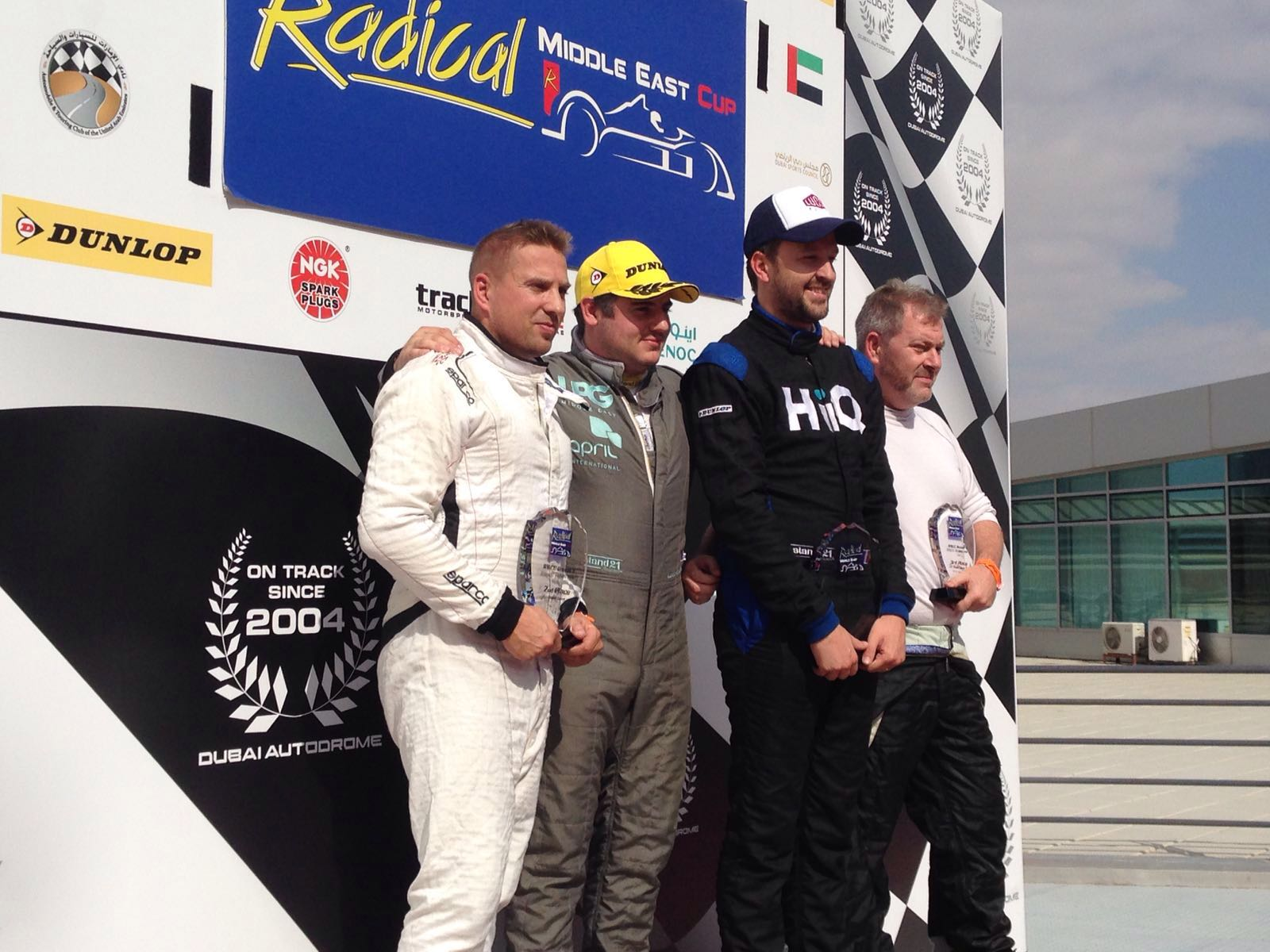 Lucco Racing Team_Ludovic Loffreda (2nd from left) and Romain Lutter (3rd from left).jpg