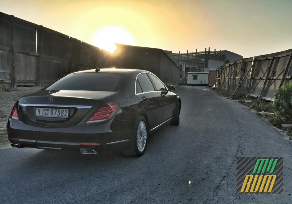 2016 Mercedes-Benz S400 - Rear 3Q - instagram.com/samisiddiqi1/