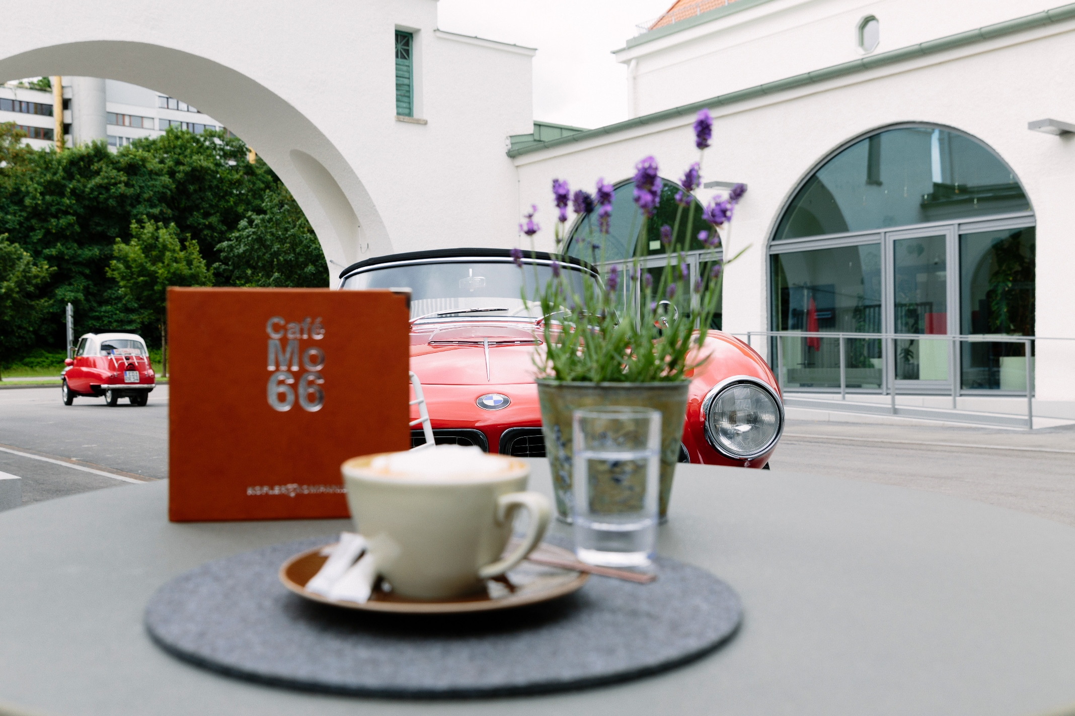 Cafe MO 66 at BMW Group Classic