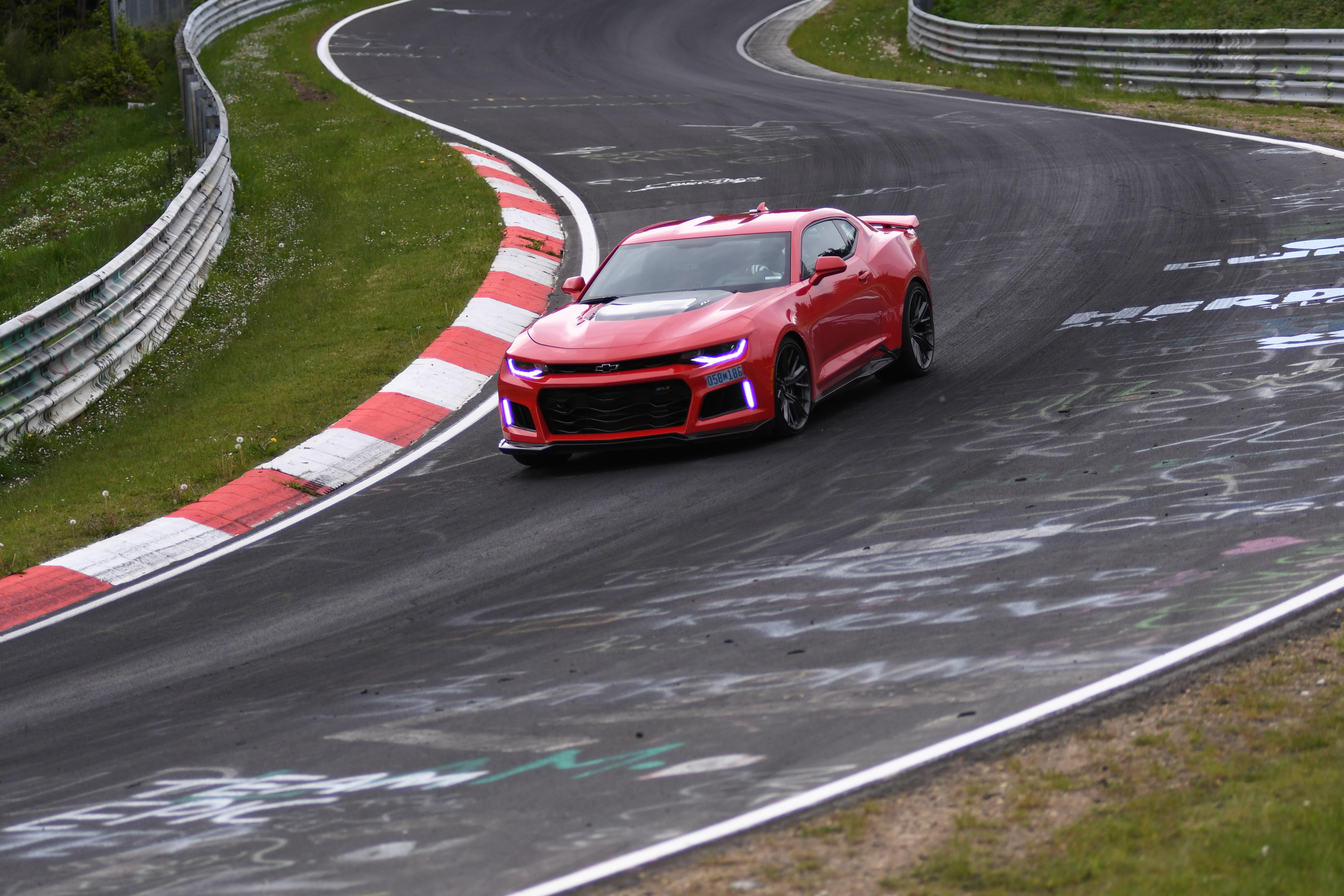 Chevrolet 2017 Camaro ZL1 lapped Germany's grueling Nürburgring