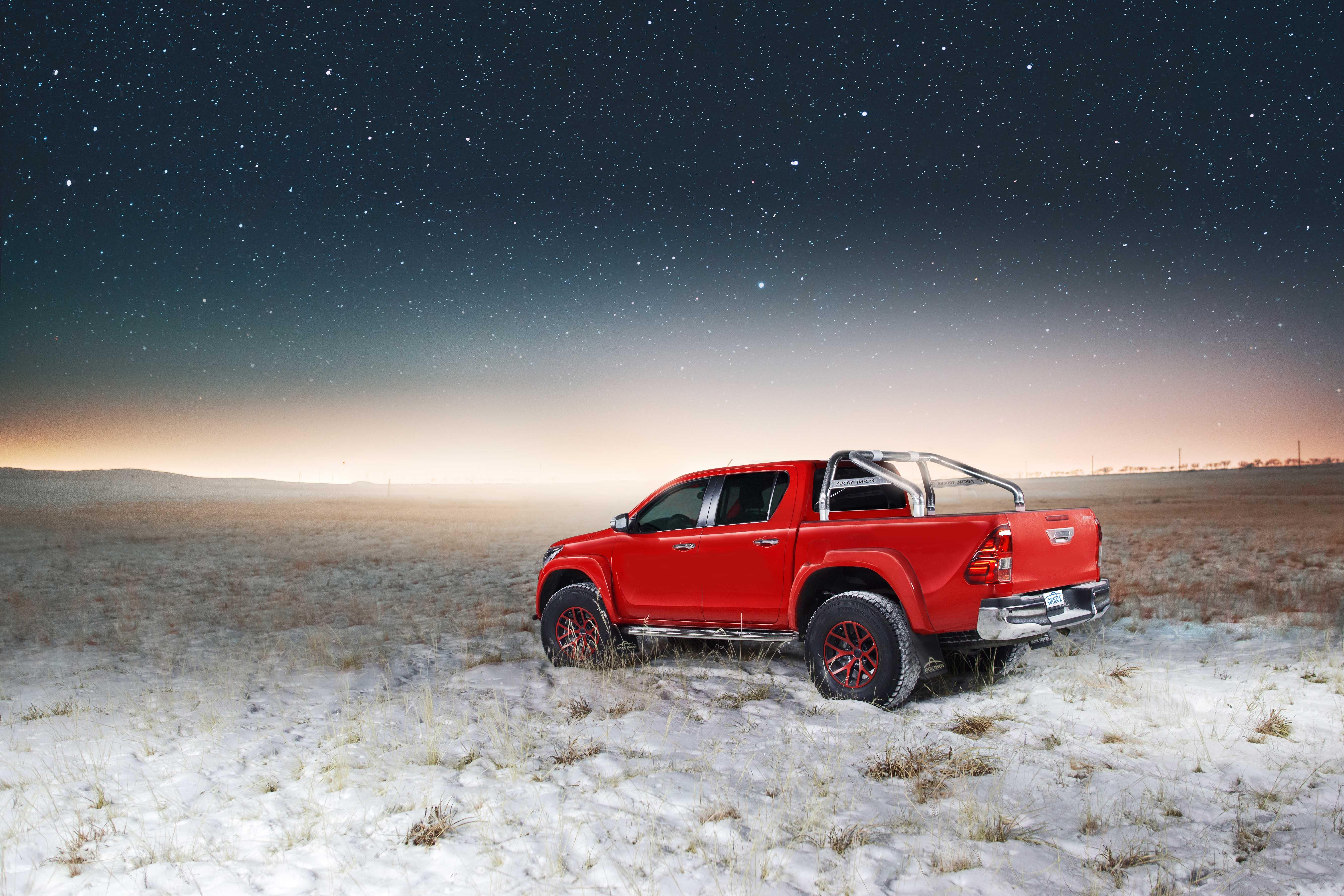 Toyota Hilux Arctic Trucks AT35 Rear Quarter Dusk.jpg