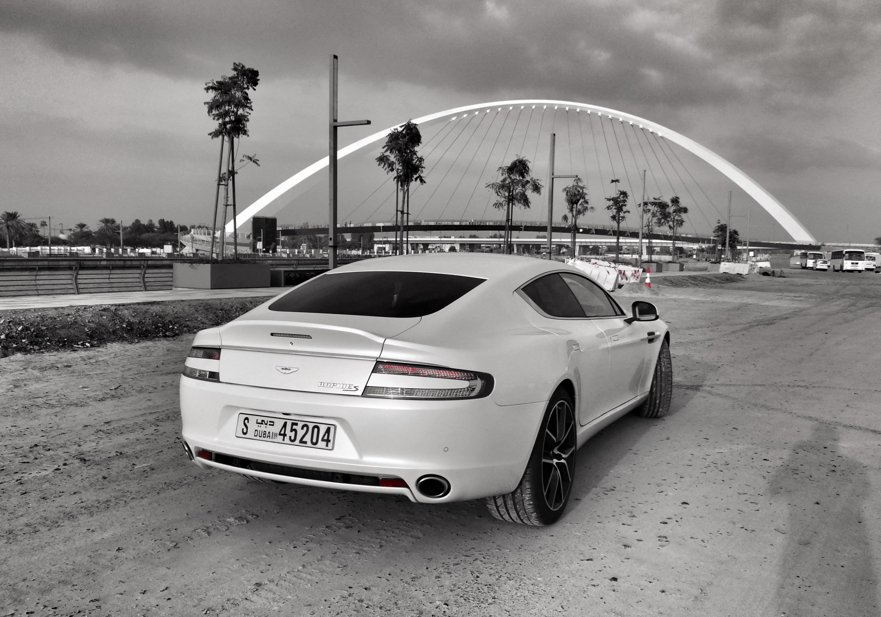 2017 Aston Martin Rapide S - Rear