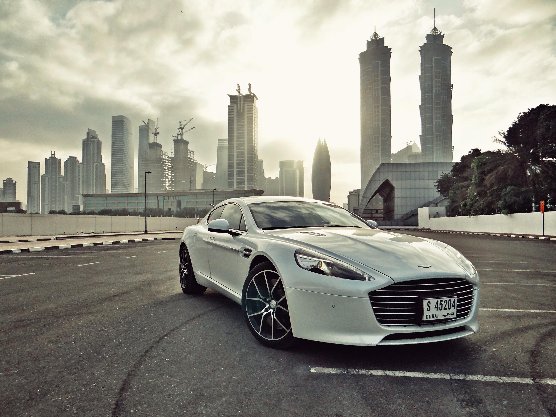 Sunburst - Aston Martin Front Three Quarter
