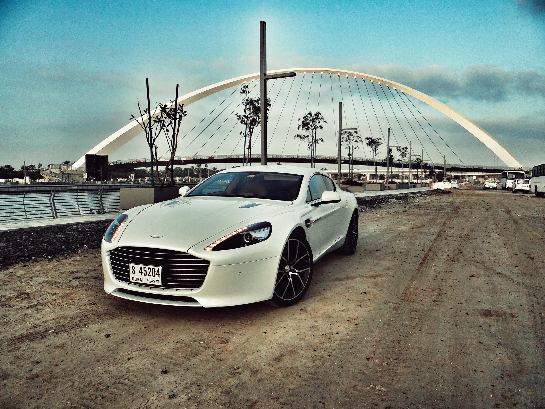 2017 Aston Martin Rapide S - Front three quarters